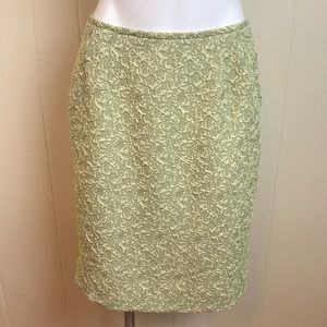 Vintage 80s/90s Textured Embossed Pencil Skirt